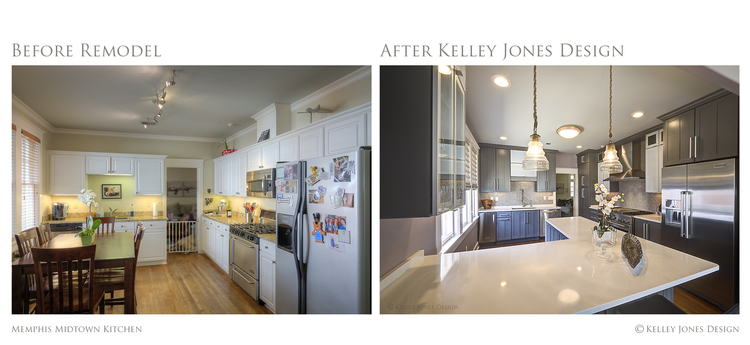 4 Memphis Midtown Kitchen Remodel Before After Kelley