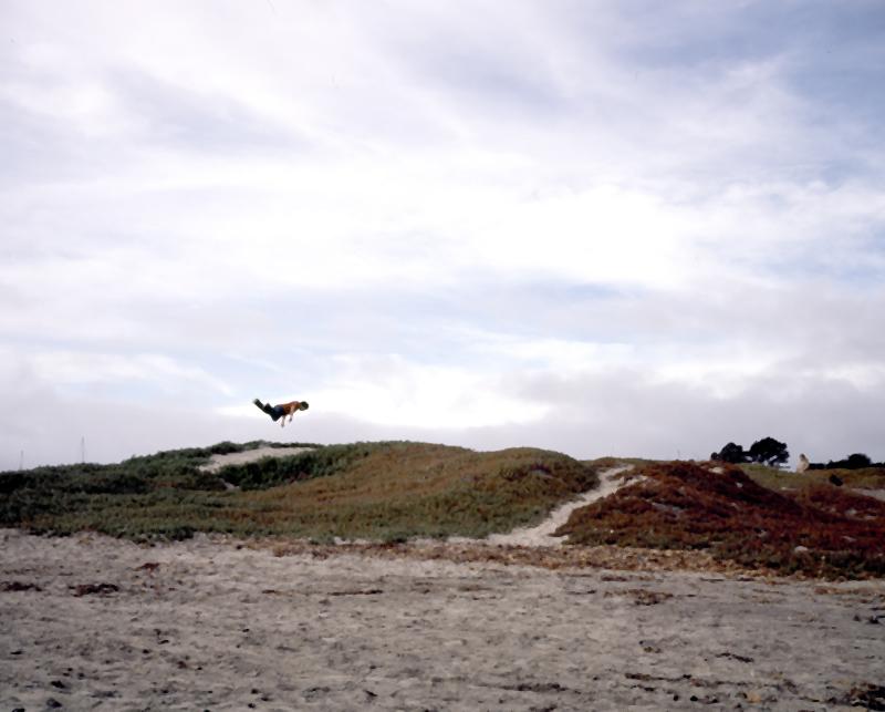 Freefall.   Half Moon Bay, CA. 2012.   © Alison Chen.