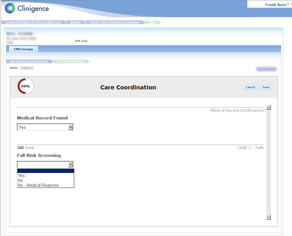 As you complete the form step by step the system gives you clear progress indication.