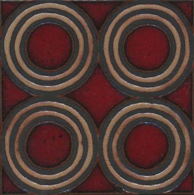 4-circle Deco Dafi Color Palette Comes in 6x6 and 8x8