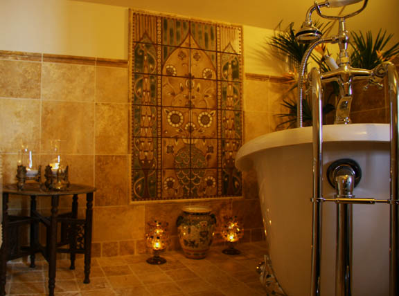Alhambra Mural Bath