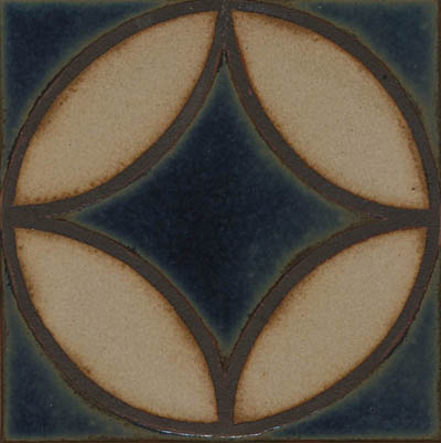 Filigree Deco in Iznik Color Palette Comes in 3x3, 4x4, 6x6 and 8x8