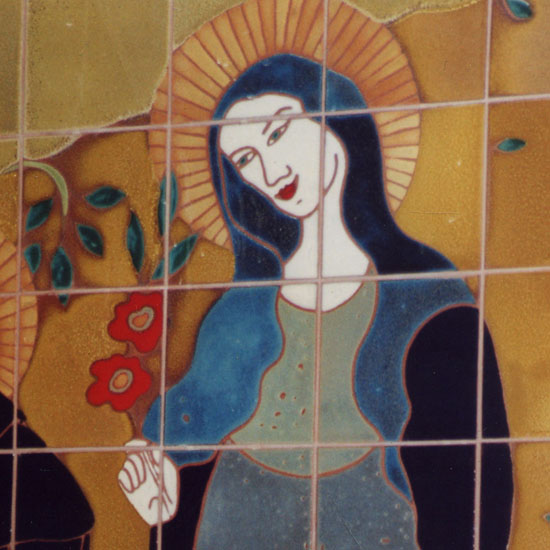 St Clare Mural Detail