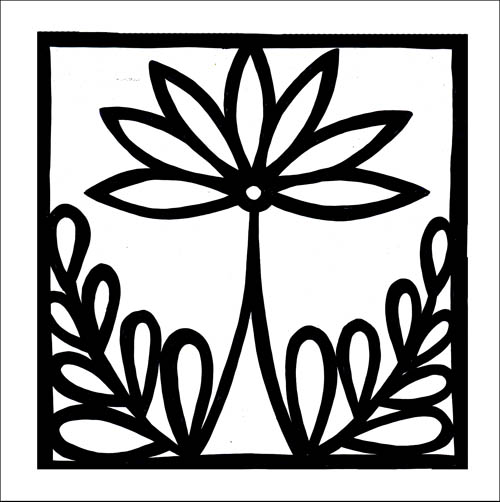 LOTUS DECO -  in 6x6 + 8x8 - comes with or without notches