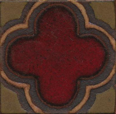 Clover Deco 4x4 ARIANA color palette: sangria, limestone + cast iron