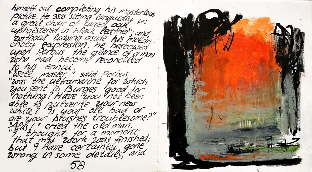 95 UM 8 p58 ink oil paint on paper (each page) 33x30 cm.jpg
