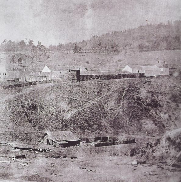 Fort Ross circa 1865