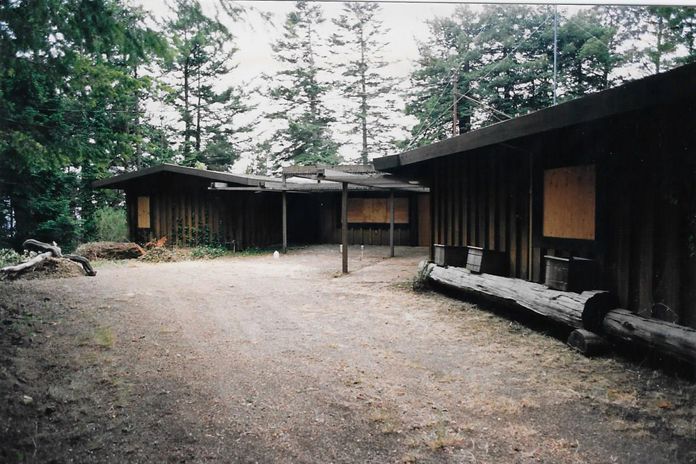 The main house in 1991