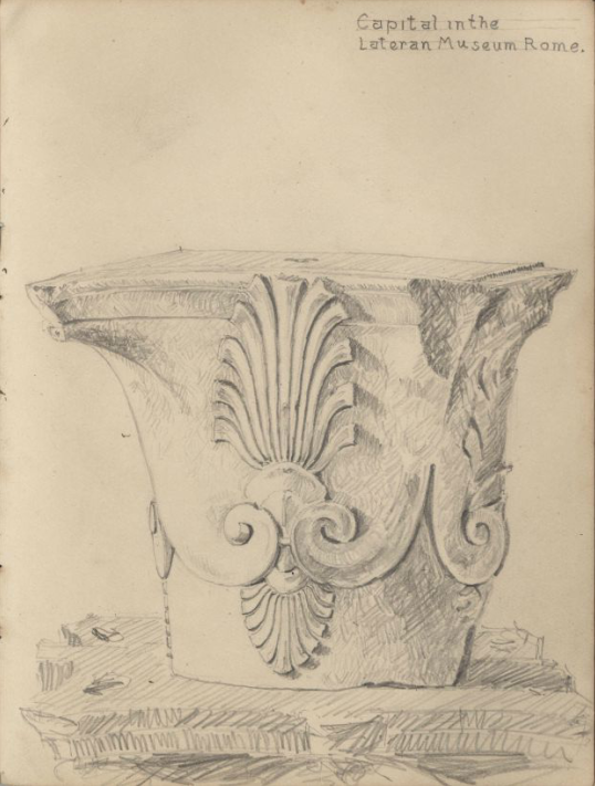 Capital in Lateran Museum, A.S.