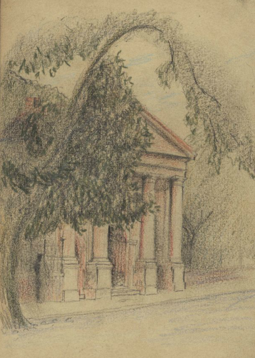 College of Charleston's Porter's Lodge, A.S.