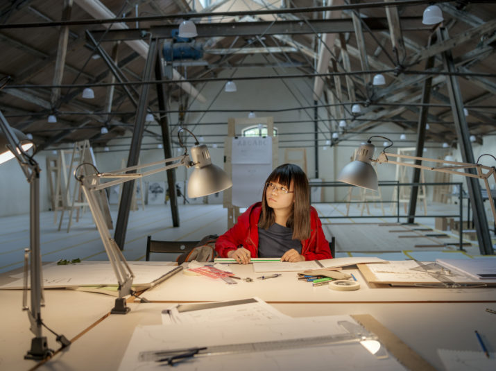 The architect Shan Lae Aye from Burma thinks she has learned a lot in just a few days.PHOTO JONAS MALMSTRÖM