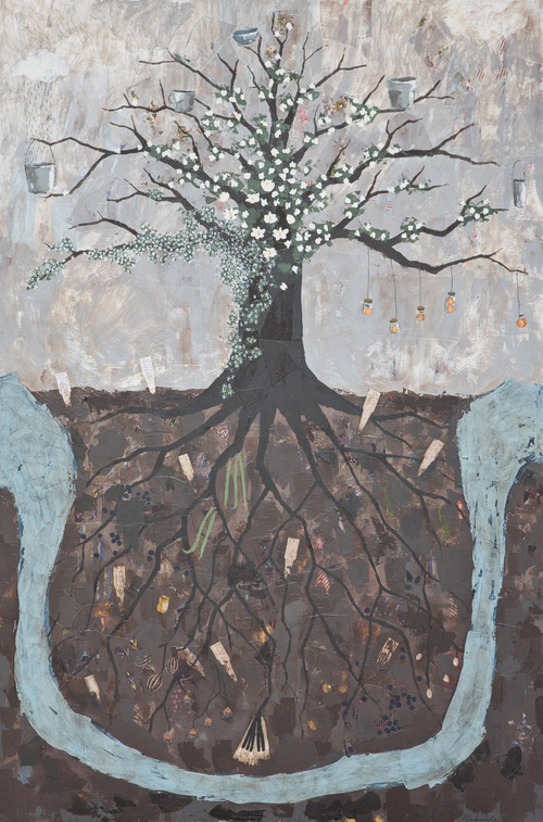 Family Tree Paintings Rebecca Rebouche