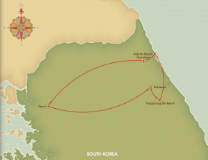 Gangwon-Do Tour Route