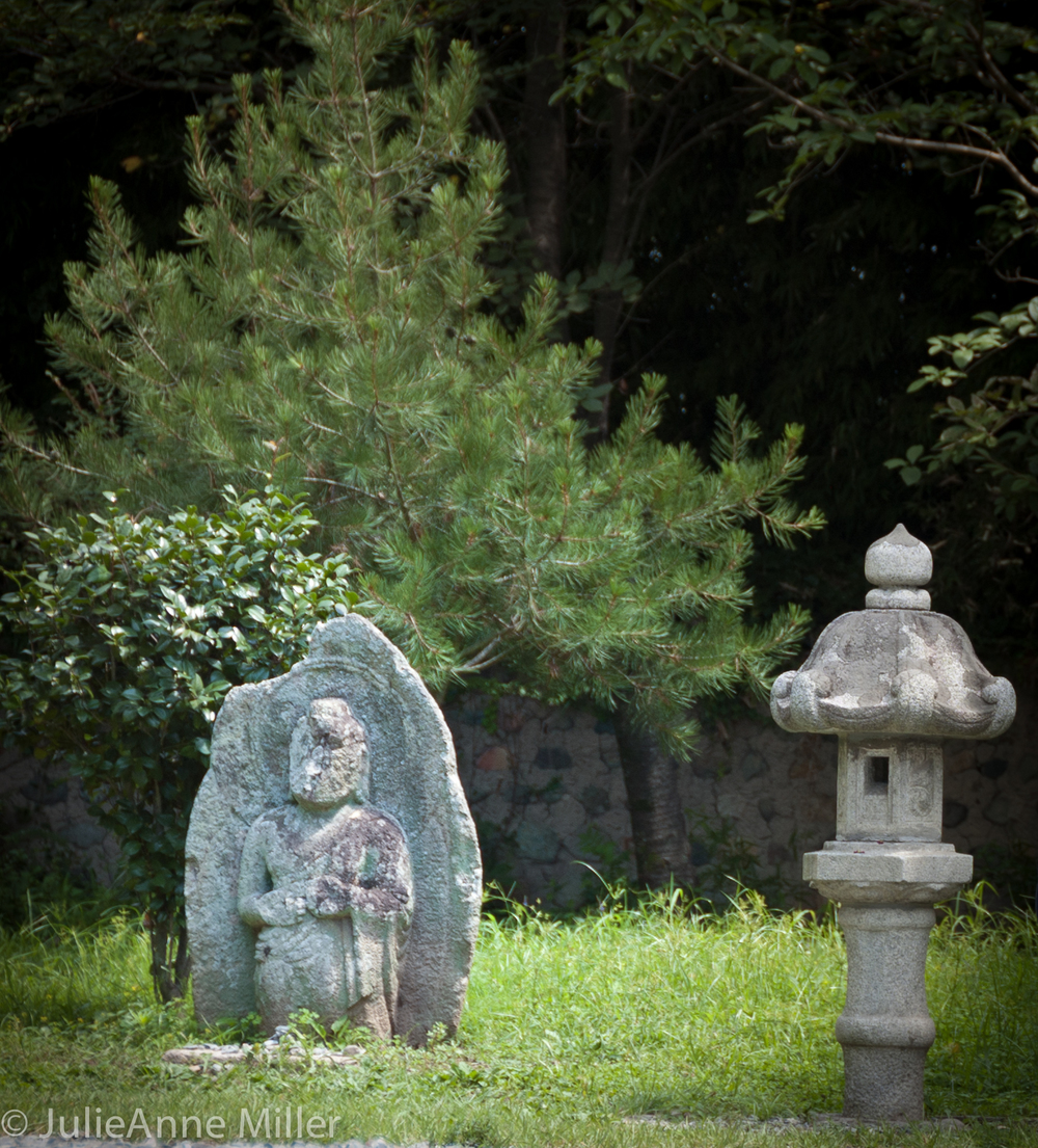 Ancient Statues at Bunhwang Temple