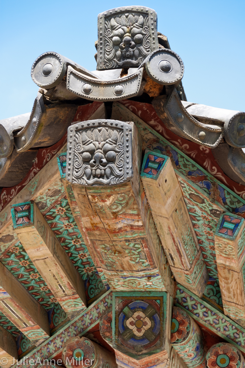 Bulkuksa Roof Detail