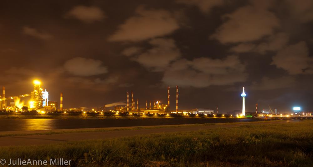 POSCO at Night