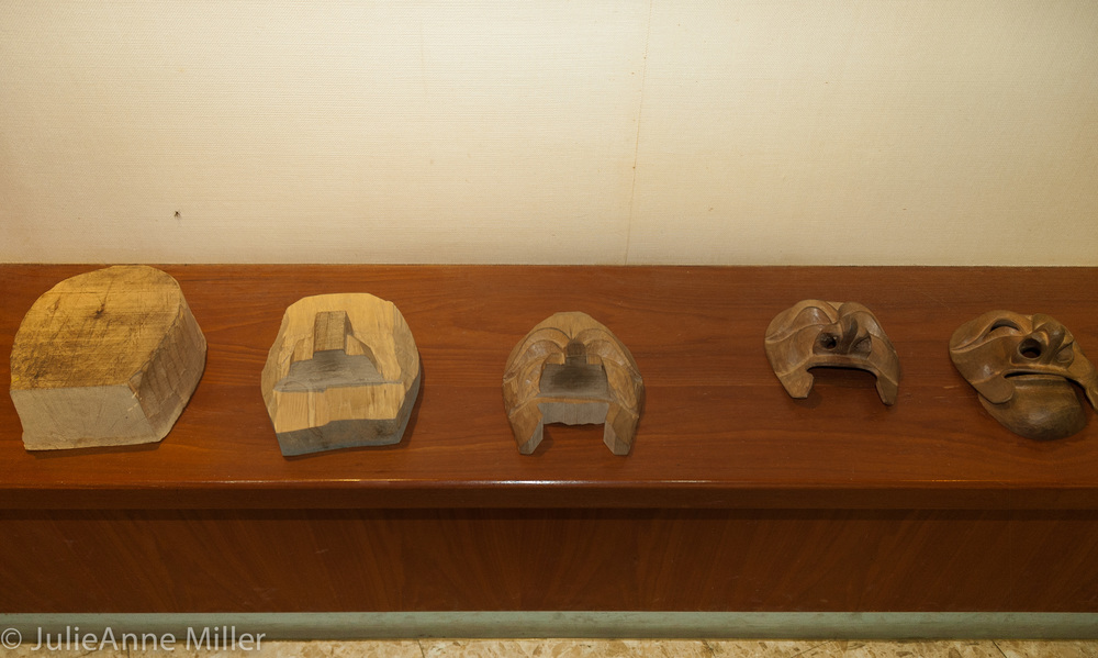 Masks at Hahoe Mask Museum