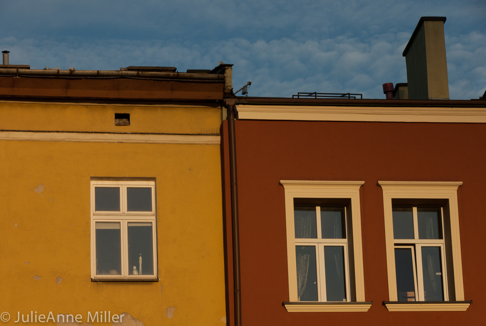 Rooftops in Kazimierz
