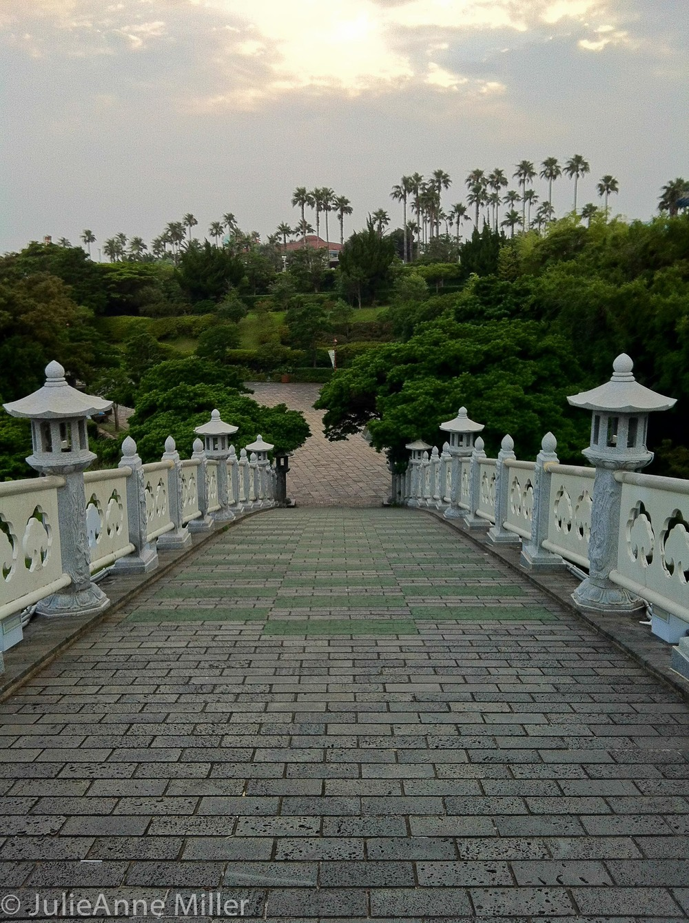 walking across Seonim Bridge