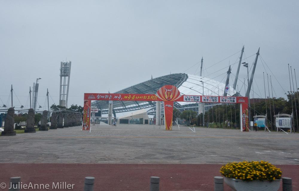 Jeju island, world cup stadium