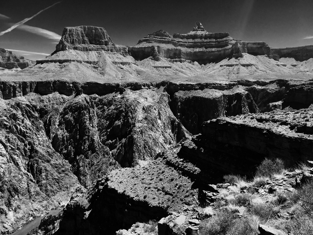Grand Canyon BW tip of river.jpg