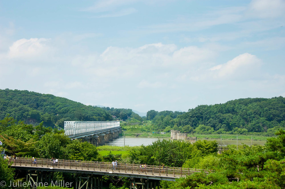 Bridge of No return, dmz, korea