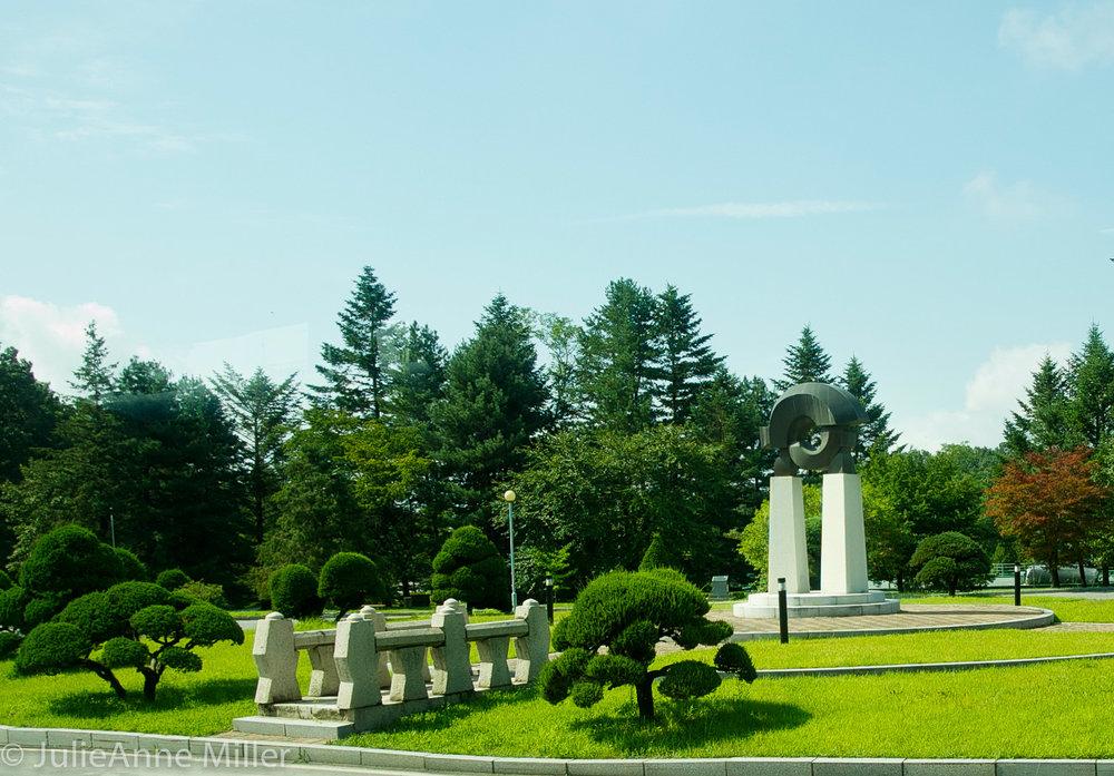 UNC Sunken Garden
