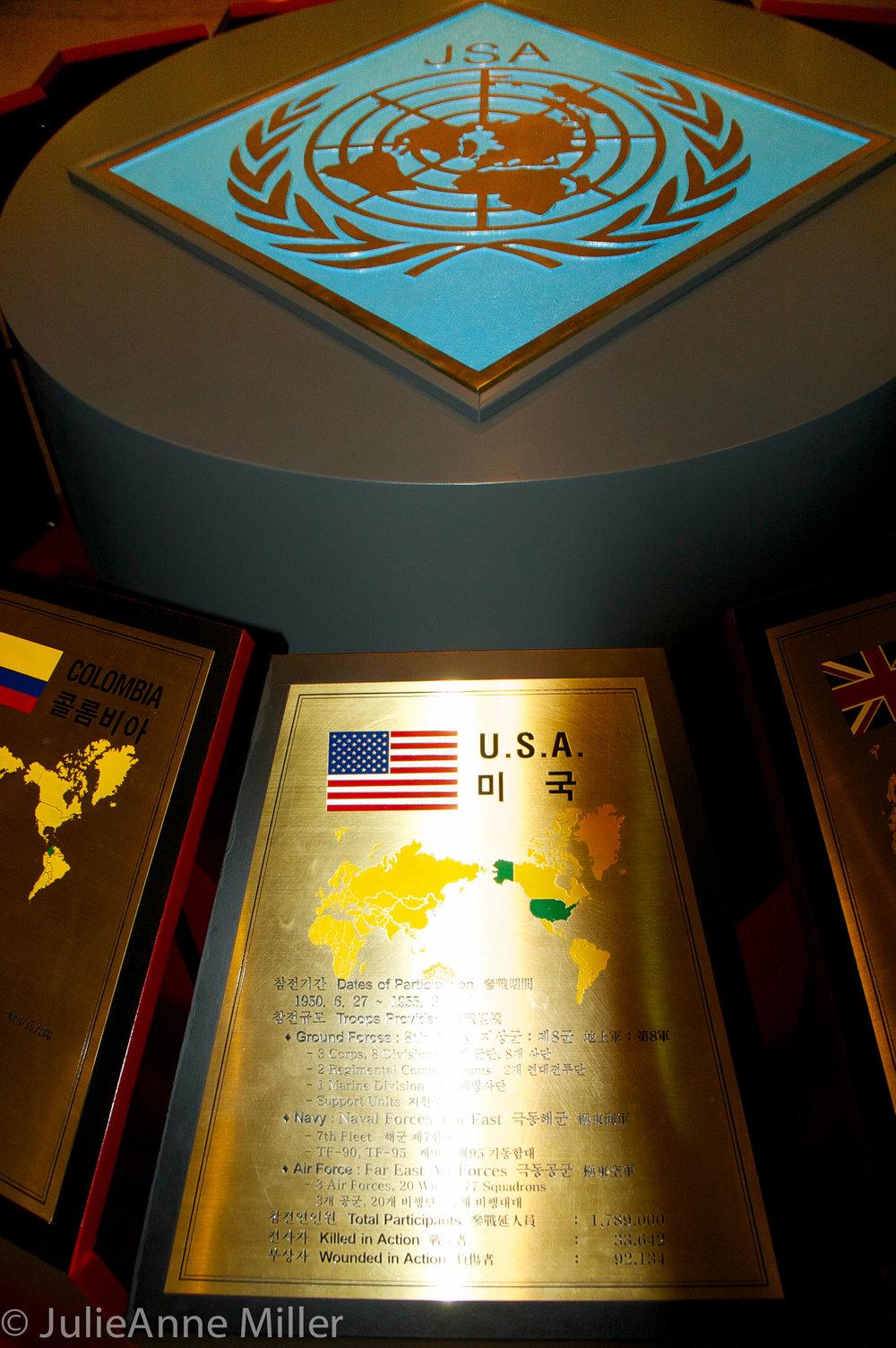 USA memorial