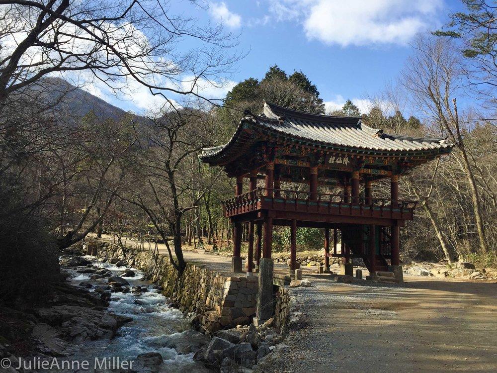 gangseonru pavilion, Seonam Temple, Korea