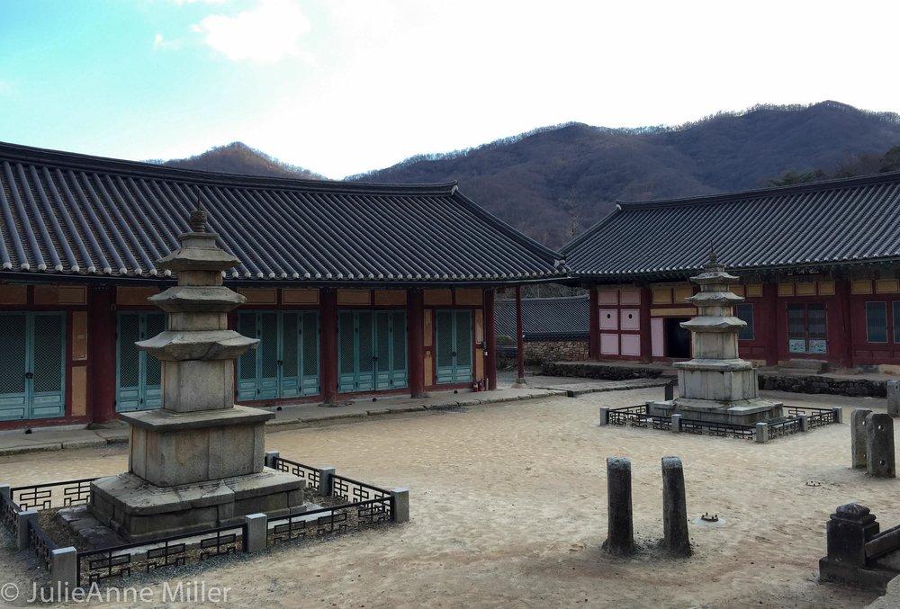 3 story pagoda, Seonam Temple