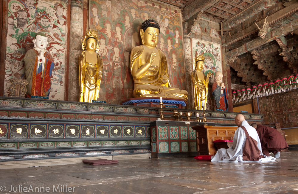 golden buddha, Bulkuksa Temple