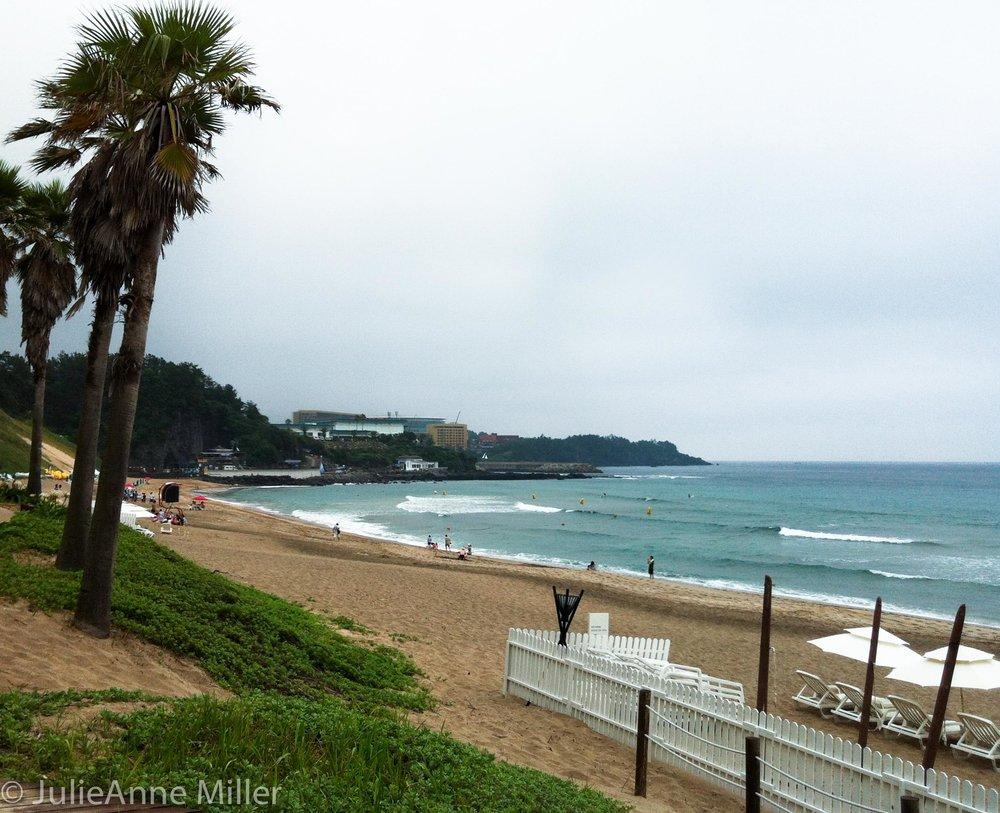 Shilla hotel, jeju island, south korea