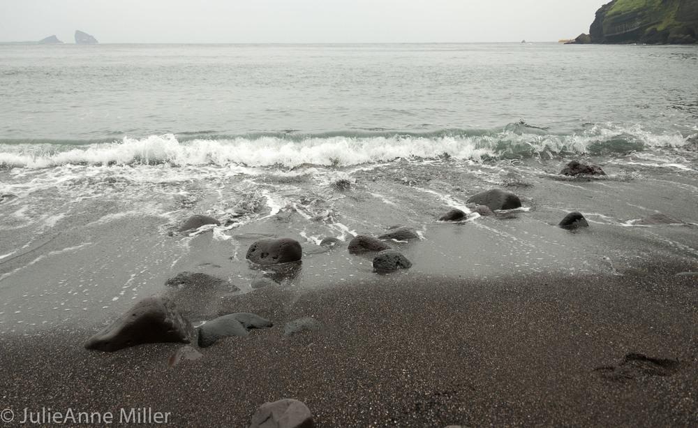 Black Beach, Jeju Island, South Korea
