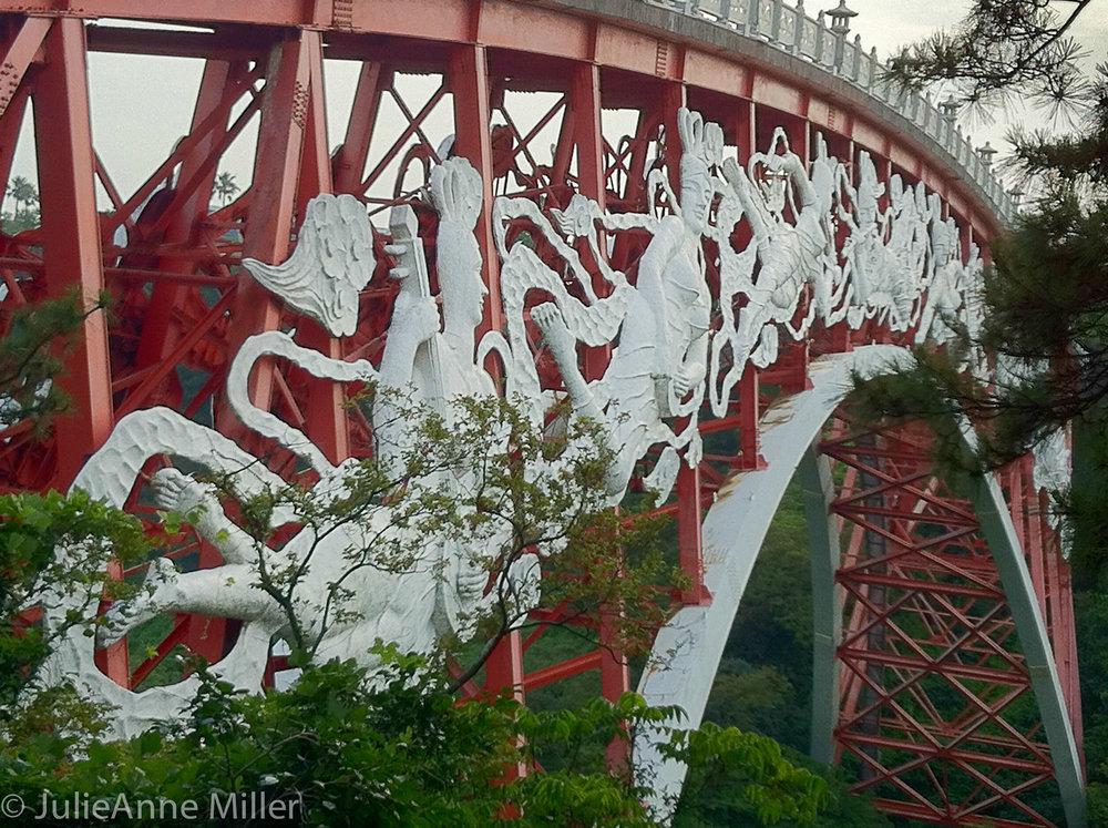 Seonim Bridge, Seogwipo, Jeju