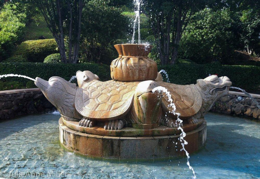 Turtle Fountain, 중문관광단지