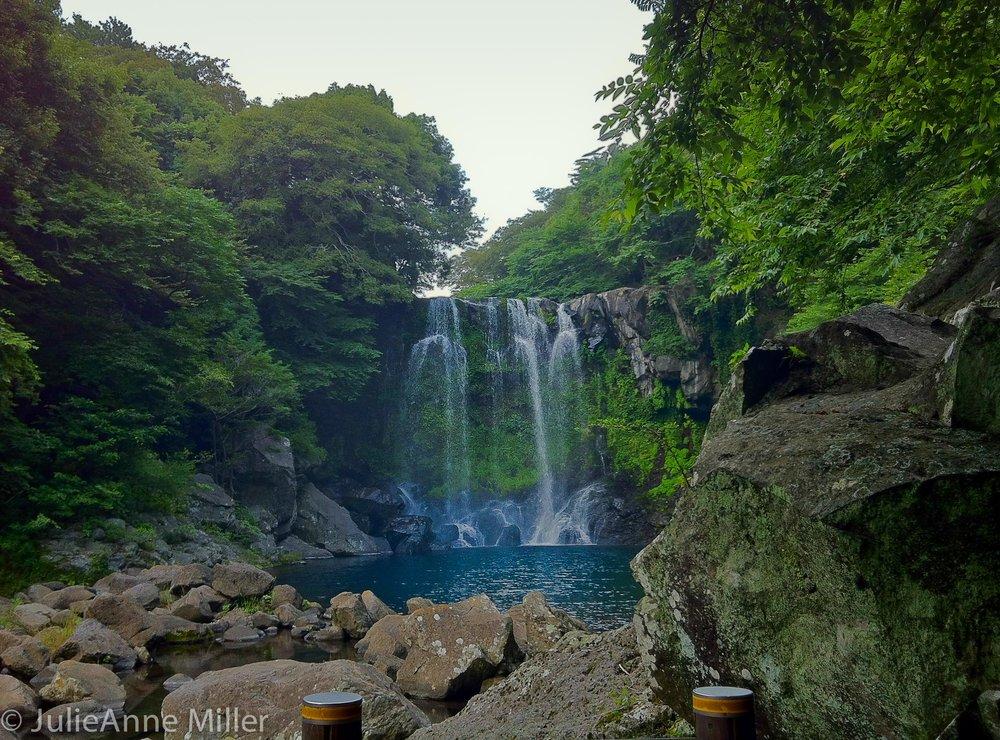 Cheonjiyeon Waterfall, Seogwipo, Korea