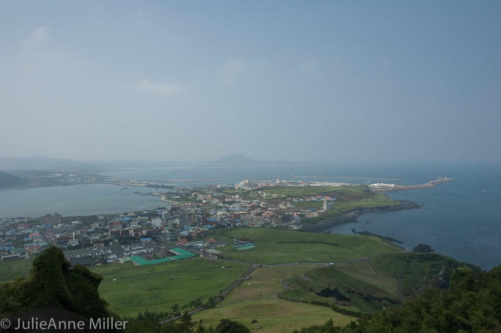 view from Seongsan Ilchulbong, Korea