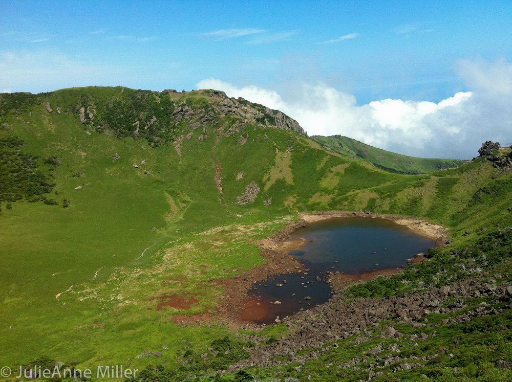 Halla San crater, Jeju-Do, Korea
