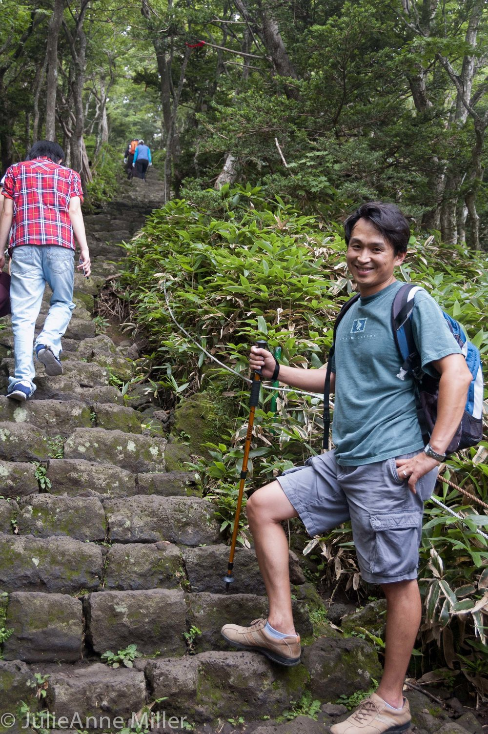 hiking Halla San 한라산, Jeju Island