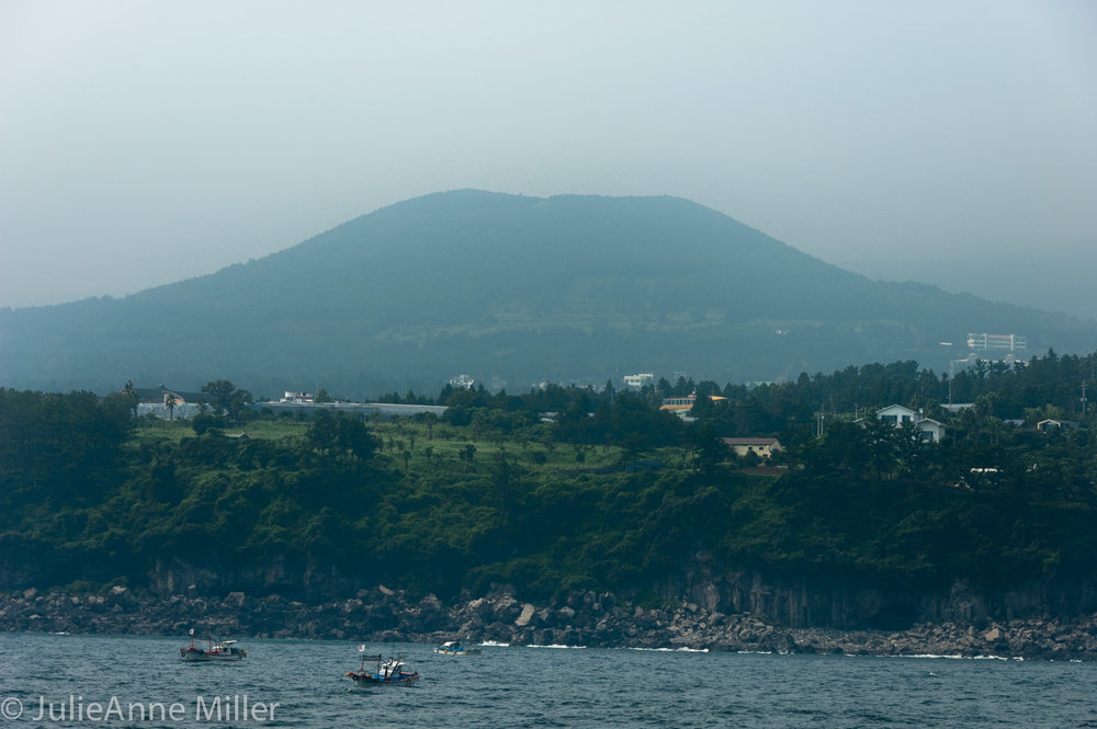 view of Halla San, Jeju Island