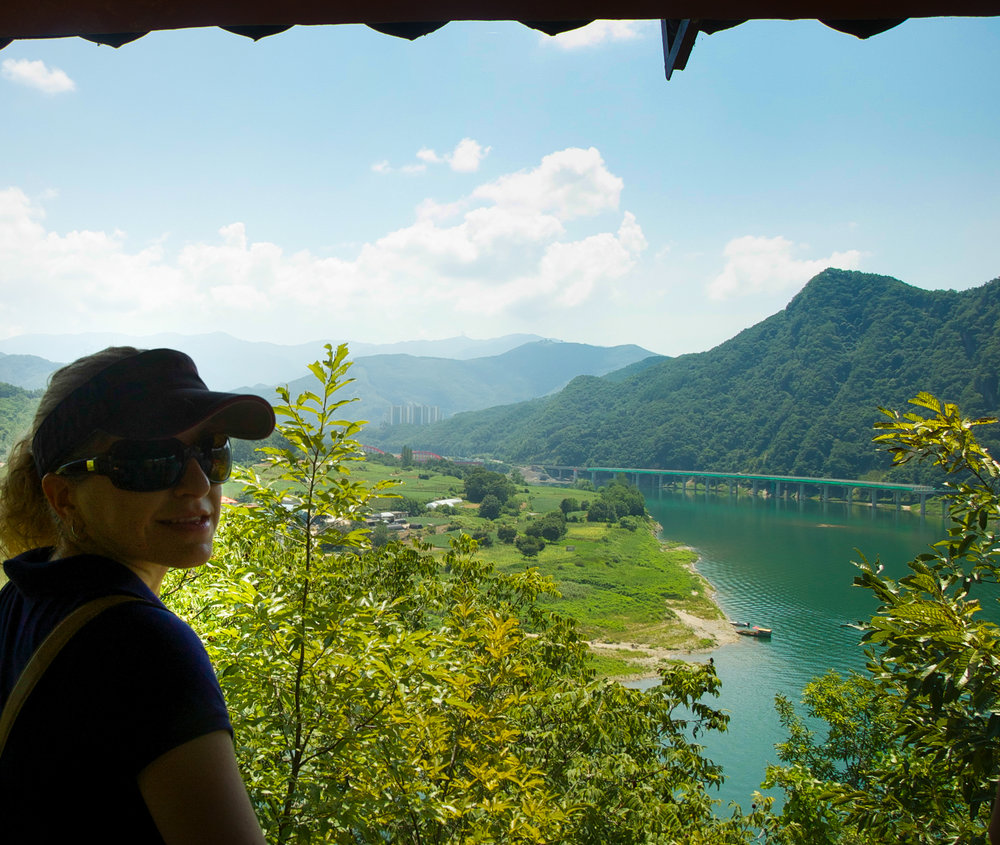 Chungju Lake, Danyang, Korea