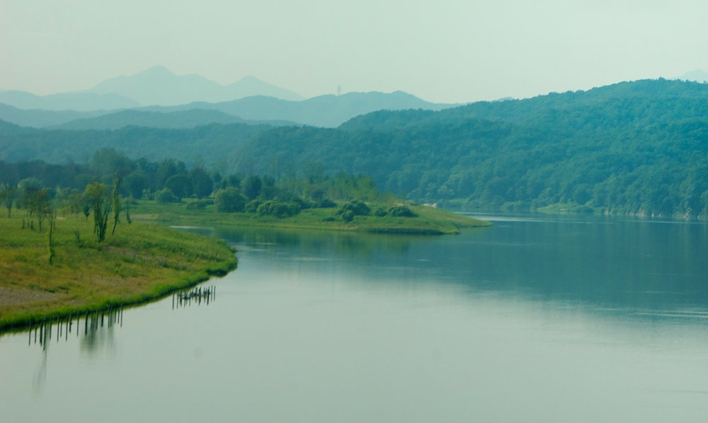Nakdong River, Andong, South Korea