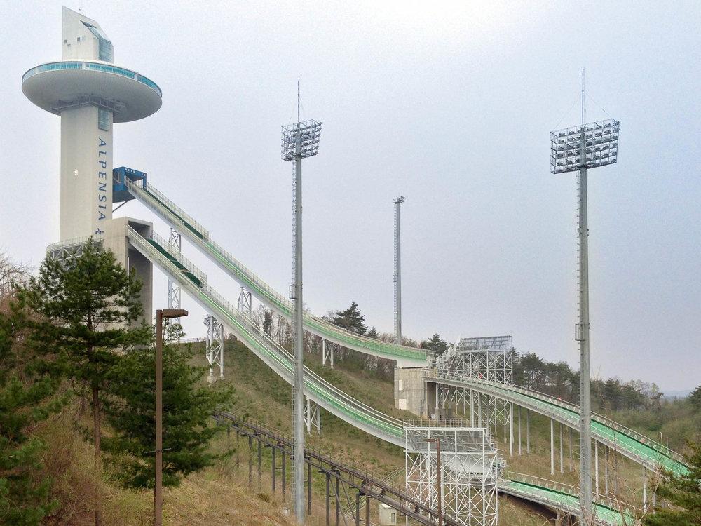 Alpensia Ski Jump, 2018 Winter Olympics in PyeongChang, South Korea