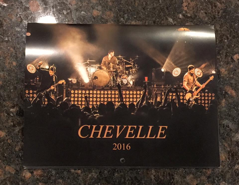 2016 Chevelle calendar cover shot