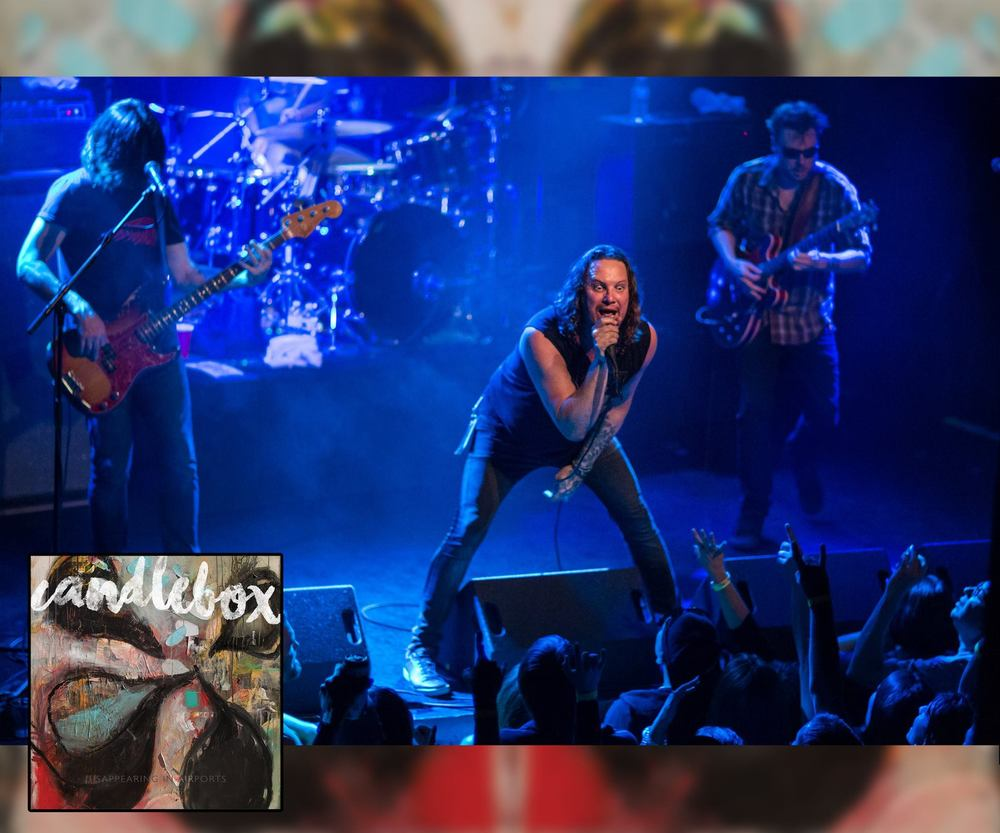 Candlebox- Disappearing in Airports album & tour promotion, April 2016