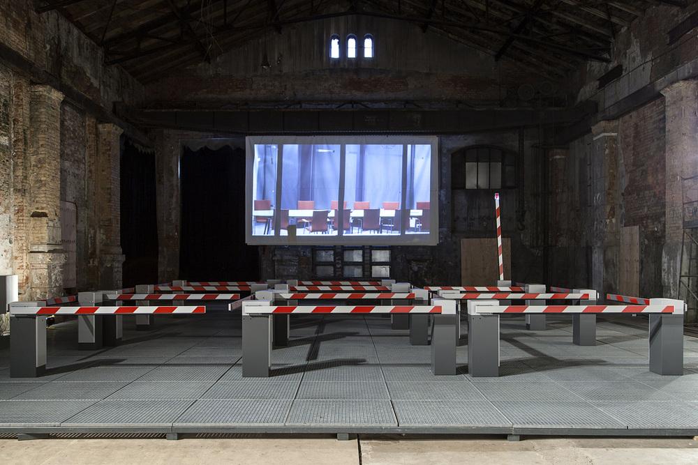 Installation image, Kunst kraft werk, Leipzig