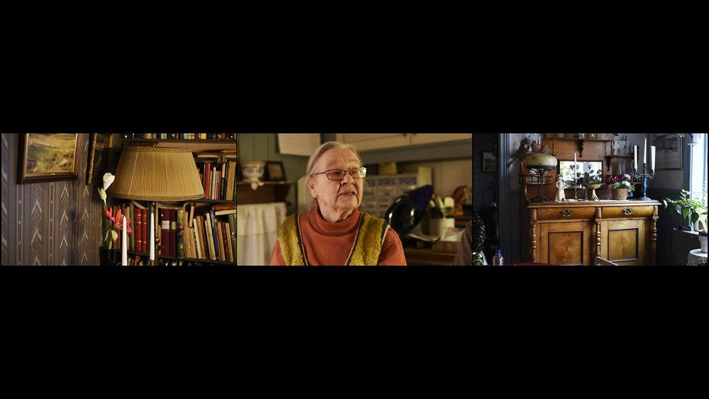 Still from the video Mamma.