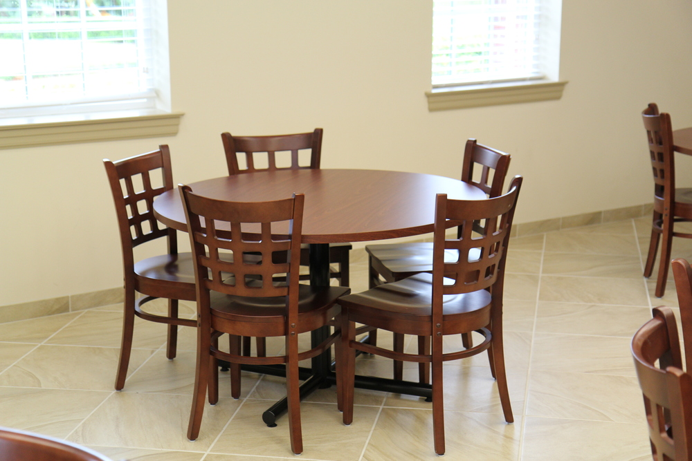 One of Fannin Center's Many Kitchen Tables
