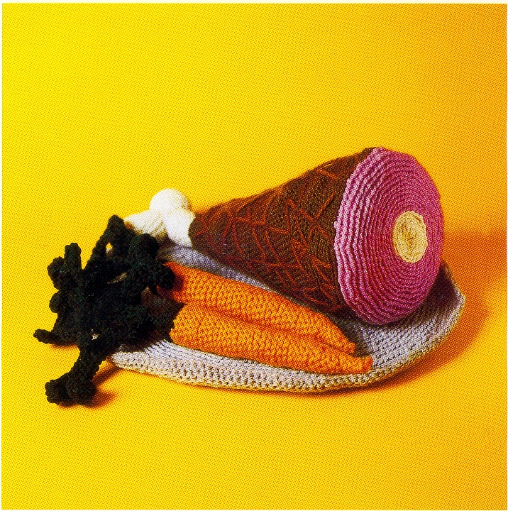 Crocheted Ham Dinner