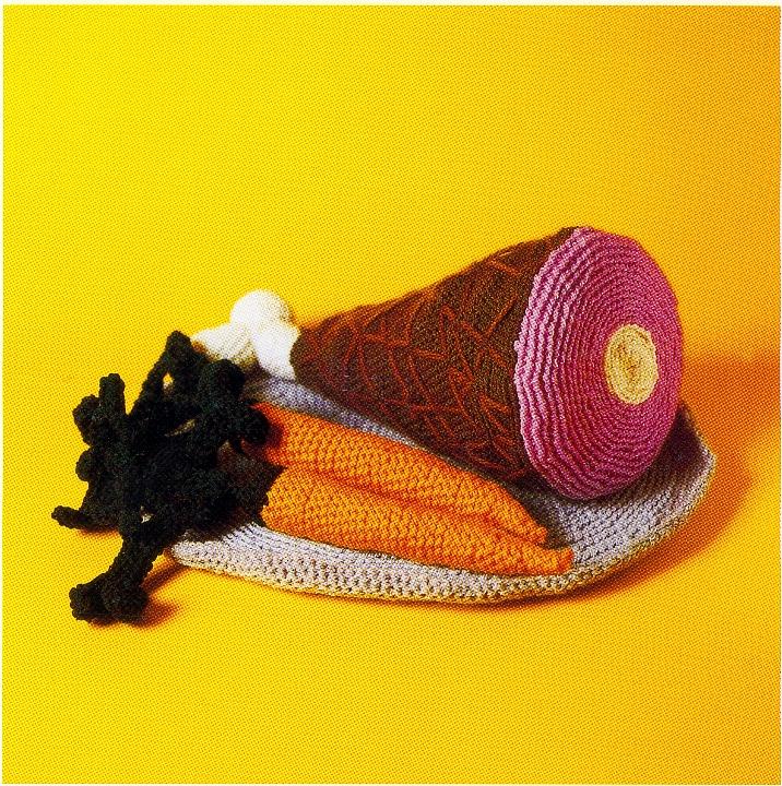 Crocheted Ham Dinner
